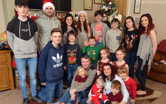 В одной из британских семей на свет появится 19-й ребенок