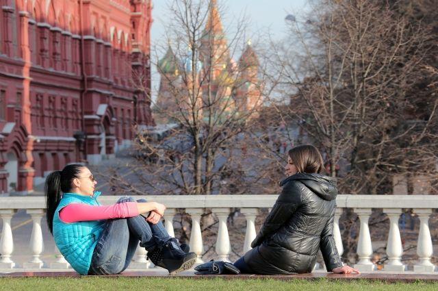 Рекорд максимальной температуры обновился в Москве