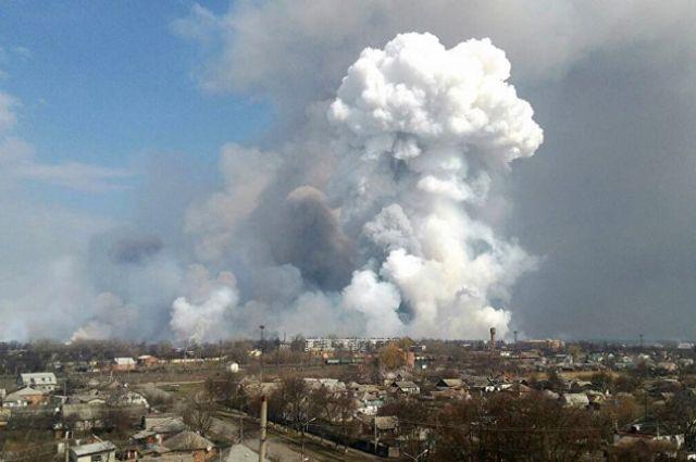 В украинской Балаклее отключили газоснабжение из-за продолжающихся взрывов