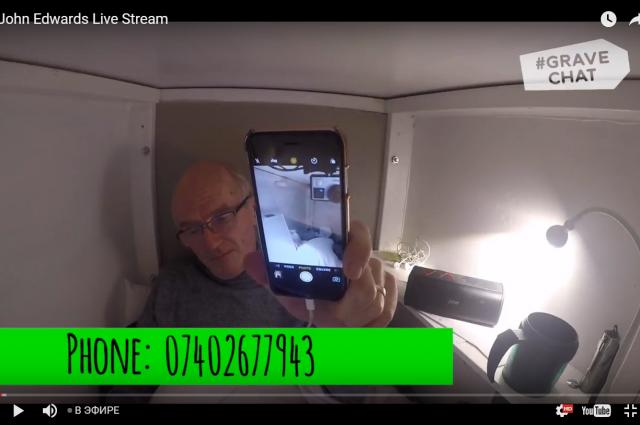 Пожилой ирландец добровольно переехал в гроб с Wi-Fi и вентиляцией