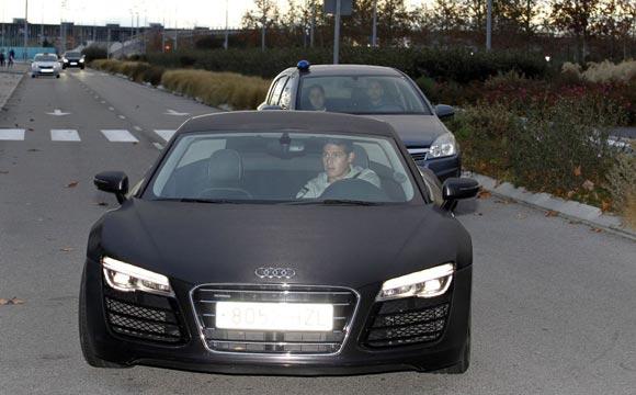 Полузащитник «Реала» Родригес устроил погоню на шоссе