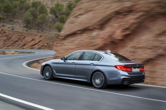 Компания BMW представила новую «пятерку»