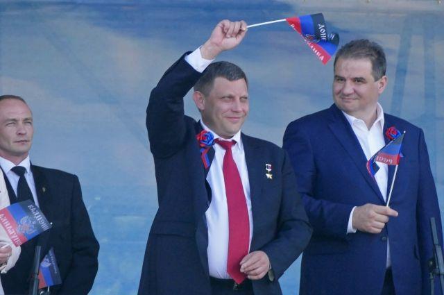 Захарченко: целью ДНР является воссоединение с Россией