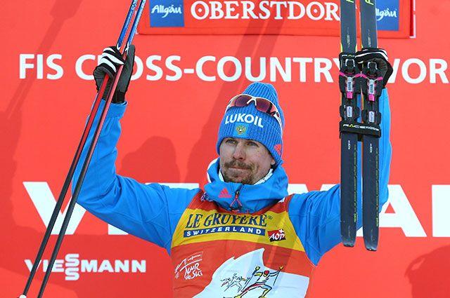 Российский лыжник Устюгов стал чемпионом гонки «Тур де Ски»