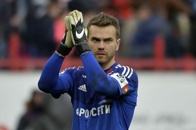 Акинфеев станет капитаном сборной России по футболу в матче против Катара