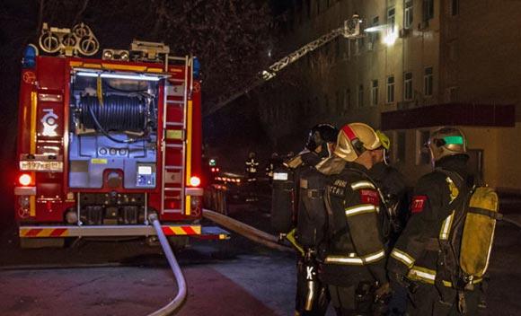 В психоневрологическом интернате в Воронежской области произошел страшный пожар
