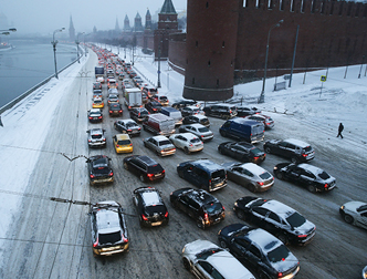 У Москві зафіксовано найбільші пробки в історії