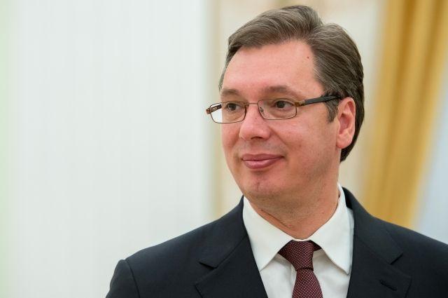 Вучич поздравил россиян с Днем Победы на русском языке