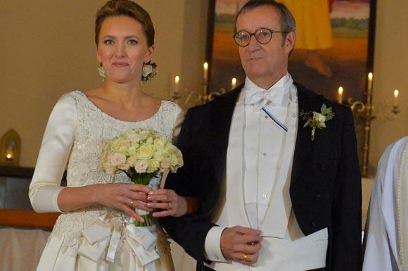 Эстонский лидер взял в жены работницу Минобороны Латвии