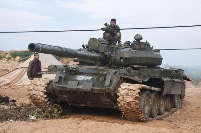 Войска Сирии завладели высотой и плотиной у Пальмиры